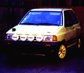 This Festiva Was The Street Car Of One Ken Cashion Who Bought It New Some Time Ago He Eventually Modified Slightly For Use As An SCCA Pro Rally